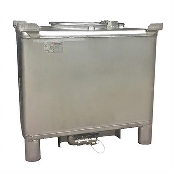 stainless steel and carbon IBC